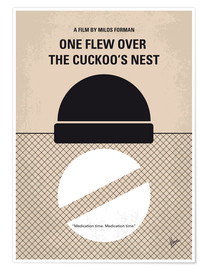 Premium-plakat One Flew Over the Cuckoos Nest