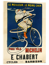 Akrylbillede  Bicycle tires Michelin - H.L. Roowy