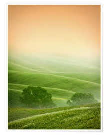 Premium-plakat Country Landscapes of Tuscany