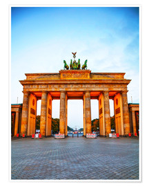 Premium-plakat  Brandenburg gate at sunrise