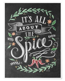 Premium-plakat  It's all about the Spice - Lily & Val