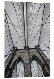 Akrylbillede  Brooklyn Bridge i New York