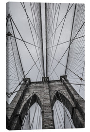 Lærredsbillede  Brooklyn Bridge i New York
