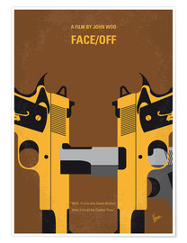 Premium-plakat Face/Off