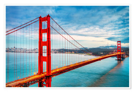 Premium-plakat The Golden Gate