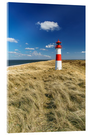 Akrylbillede  Lighthouse - Sylt Island - Achim Thomae