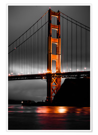 Premium-plakat Golden Gate