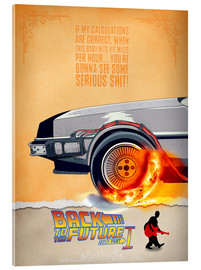 Akrylbillede  Back to the Future quote - HDMI2K
