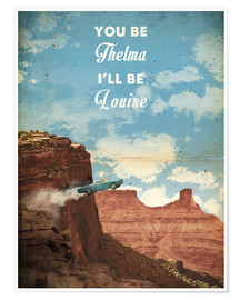 Premium-plakat Thelma and Louise