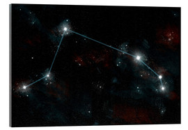 Akrylbillede  Artist's depiction of the constellation Aries the Ram. - Marc Ward