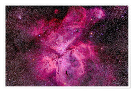 Premium-plakat The Carina Nebula in the southern sky