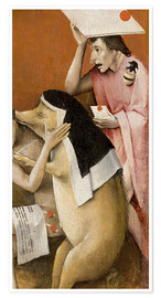 Premium-plakat  Garden of Earthly Delights, Hell (detail) - Hieronymus Bosch
