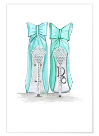 Premium-plakat Tiffany's Shoes