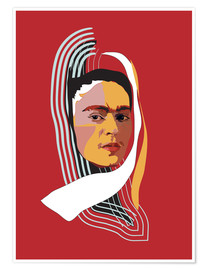 Premium-plakat Frida Abstract