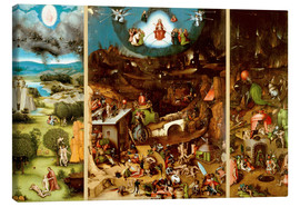 Lærredsbillede  The Last Judgement - Hieronymus Bosch