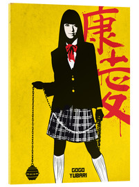 Akrylbillede  Gogo Yubari, Kill Bill - Golden Planet Prints