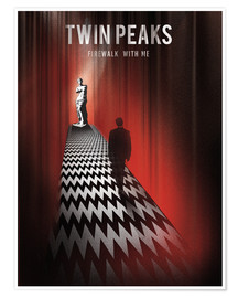 Premium-plakat  Twin Peaks - Golden Planet Prints