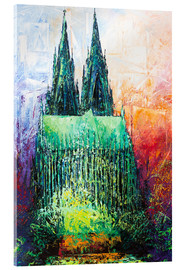 Akrylbillede  Cologne Cathedral Abstract - Renate Berghaus