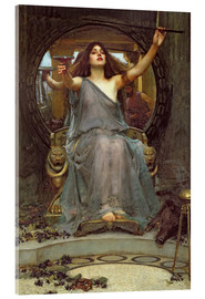 Akrylbillede  Circe Offering the Cup to Ulysses - John William Waterhouse