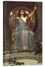 Lærredsbillede  Circe Offering the Cup to Ulysses - John William Waterhouse