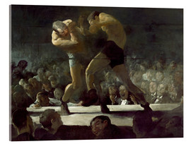 Akrylbillede  Club Night - George Wesley Bellows