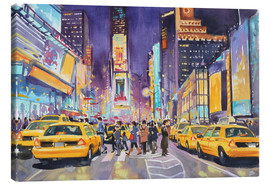 Lærredsbillede  Times Square at night - Paul Simmons