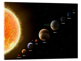 Akrylbillede  Our planets