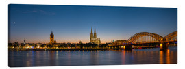 Lærredsbillede  Cologne at sunset panorama - rclassen