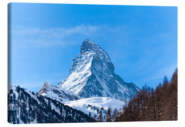Lærredsbillede  The Matterhorn, Switzerland