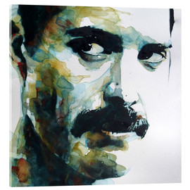 Akrylbillede  Freddie Mercury - Paul Lovering Arts