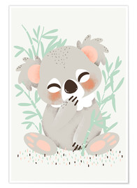 Premium-plakat Animal Friends - Koalaen