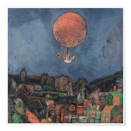 Premium-plakat  The Balloon - Paul Klee