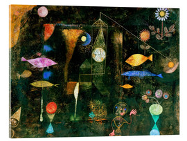 Akrylbillede  Fish magic - Paul Klee