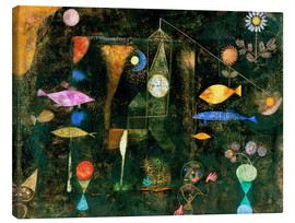 Lærredsbillede  Fish magic - Paul Klee
