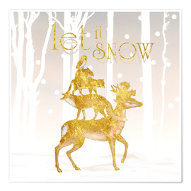 Premium-plakat  Let It Snow - Mandy Reinmuth