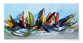 Premium-plakat Sailing abstract