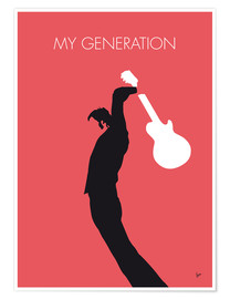 Premium-plakat  My generation - The Who - chungkong