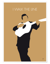 Premium-plakat  I walk the line - Johnny Cash - chungkong
