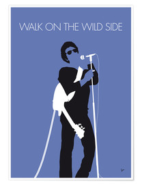 Premium-plakat Walk On The Wild Side - Lou Reed