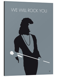 Print på aluminium  We will rock you - Queen - chungkong