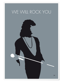 Premium-plakat We will rock you - Queen