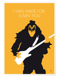 Premium-plakat I Was Made For Lovin' You - Kiss