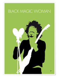 Premium-plakat Santana - Black Magic Woman