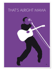 Premium-plakat That's alright Mama - Elvis