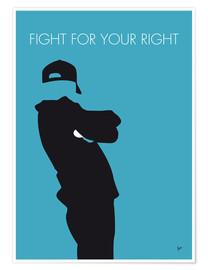 Premium-plakat Fight For Your Right - Beastie Boys