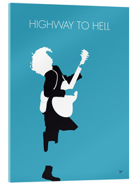 Akrylbillede  Highway to hell - ACDC - chungkong