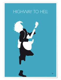 Premium-plakat Highway to hell - ACDC