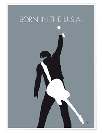 Premium-plakat Born in the U.S.A. - Bruce Springsteen