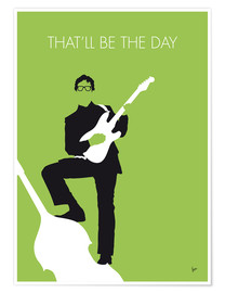 Premium-plakat That'll Be The Day - Buddy Holly