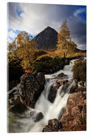 Akrylbillede  Scotland in Autumn - Buchaille Etive Mor - Martina Cross